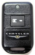 Code Alarm Chrysler Chrysler CodeAlarm FCC ID: ELVATCC Keyless Remote Control Entry Clicker Pre-Owned 560A Chrysler (Code Alarm Chrysler )