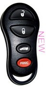 Dodge Chrysler New Dodge Chrysler 4 Btn 268 Keyless Remote Entry Clicker New 14 (Dodge Chrysler)