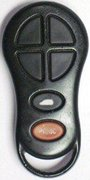 Dodge Chrysler OEM Dodge Chrysler 6 Btn 797 Keyless Remote Entry Clicker No Writing 13 (Dodge Chrysler)