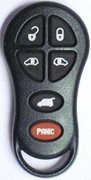 Dodge Chrysler OEM Dodge Chrysler 6 Button FCC ID: GQ43VT18T Part # 04686797 Keyless Remote Entry Clicker Pre-Owned 13 (Dodge Chrysler)
