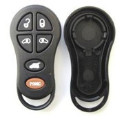 Dodge Chrysler Replacement Button Pad and Case for 6 Btn 797 Keyless Remote Keyfob Transmitter New C-6A (Dodge Chrysler)