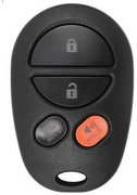 Toyota New for 2008 2009 2010 2011 2012 2013 2014 2015 2016 Toyota Sequoia 4 Button SUV Hatch Keyless Remote Entry Clicker Control Transmitter Keyfob Key FOB New 139A (Toyota)