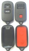 Toyota New Replacement Case Shell Buttons for Toyota RS3200 BAB237131-056 Dealer Vehicle Security Transmitter Keyless Remote Entry Clicker Red Led Keyfob Key FOB VIP System New 127Acbo (Toyota)