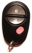 Toyota OEM Toyota 2008 2009 2010 2011 2012 2013 2014 2015 2016 3 Button FCC ID: GQ43VT20T Keyless Remote Entry Clicker Control Transmitter Keyfob Key FOB Pre-Owned 138 (Toyota)