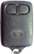 Toyota OEM Toyota 2 Button T7T Keyless Remote Entry Clicker Faded 123C (Toyota)