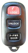 Toyota OEM Toyota 4 Button FCC ID: GQ43VT14T Keyless Remote Entry Clicker w/ Dual Power Sliding Door Pre-Owned 133A (Toyota)