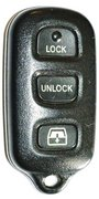 Toyota OEM Toyota 4 Button w/ Rear Window FCC ID: HYQ12BAN Keyless Remote Entry Clicker Pre-Owned 134B (Toyota)