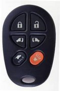 Toyota OEM Toyota 6 Button GQ43VT20T Keyless Entry Remote Control Entry Clicker Transmitter Keyfob Key FOB Controller Vehicle Car Truck Security System Door Opener Fab Pre-Owned 140Ao (Toyota)