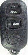 Toyota OEM Toyota Factory 3 Button FCC ID GQ43VT14T TRW 88LPOO65 RSS-210 DENSO 89742-06010 AA020 Keyless Remote Entry Clicker Control Transmitter Keyfob Key FOB Pre-Owned 130 (Toyota)