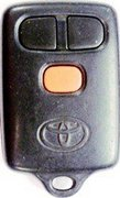 Toyota OEM Toyota FCC ID: GQ43VT7T Keyless Remote Entry Clicker w/ Panic Button Pre-Owned 123A (Toyota)