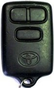 Toyota OEM Toyota T7T Keyless Remote Entry Clicker w/ Trunk Release Faded 123B (Toyota)