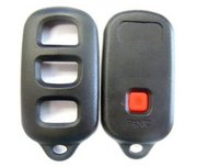 Toyota Replacement Case for Toyota 4 Button Keyless Remote Entry Clicker w/ Hatch / Hatch Glass Button New C-35h (Toyota)