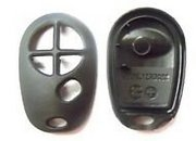 Toyota Replacement Case for Toyota 5 Button 20T Keyless Remote Entry Clicker New C-39 (Toyota)