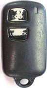 Toyota Scion Dealer PORT Installed Toyota 3 Button ELVAT1B ELVATDD ELVATiB 39742 89742-OC010 OCO10 OCOIO Securikey Keyless Remote Entry Control Clicker Transmitter Faded 128A (Toyota Scion)