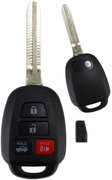 Toyota Toyota 16 15 14 2016 2015 2014 Corolla 89070-02880 HYQ12BEL 'H' Chip Keyless Remote Entry Clicker Transmitter Control Keyfob FOB Beeper / New Key Refurbished 120F (Toyota)