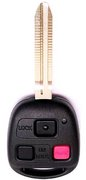 "Toyota Toyota Master Ignition Key FCC ID HYQ12BBT HYQ1512V Keyless Remote Entry Clicker ontrol Transmitter Keyfob Fob Vehicle Beeper w/1.75"" Key Blade New 135Do (Toyota)"