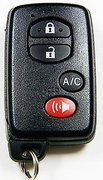 Toyota UNLOCKED 2011 2012 2013 2014 2015 Toyota Prius Plug-In C Model Electric Gas Smartkey HYQ14ACX A/C Keyless Remote Entry Clicker Control Transmitter Key UNLOCKED 120B1a (Toyota)