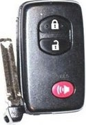 Toyota UNLOCKED Toyota 3 button Smartkey Proxy HYQ14AAB Keyless Remote Entry Clicker with New Key Unlocked 120D (Toyota)