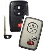 Toyota Unlocked Toyota Silver 4 button Proximity Smartkey HYQ14AAB Keyless Remote Entry Clicker with New Key Unlocked 120E (Toyota)