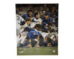 1986 New York Mets Autographed 16x20 Photo New York Mets - Certified Authentic
