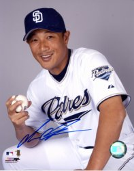 Akinori Otsuka San Diego Padres Autographed 8x10 Photo - Certified Authentic