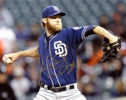Andrew Cashner San Diego Padres Autographed 8x10 Photo - Certified Authentic