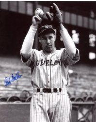 Bob Feller Cleveland Indians Autographed 8x10 Photo - Certified Authentic