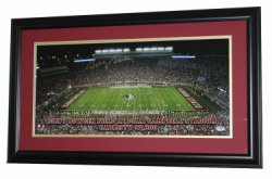 Bobby Bowden Florida State Seminoles Autographed Framed and Matted 28x15 Bobby Bowden Field at Doak Campbell Stadium Panoramic Photo - PSA/DNA Authentication