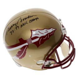Bobby Bowden Florida State Seminoles Autographed Riddell Full Size Replica Helmet with '93 - '99 Nat'l Champs Inscription - PSA/DNA Authentication