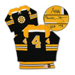 Bobby Orr Boston Bruins Autographed Mitchell & Ness Jersey HOF-79 #/444