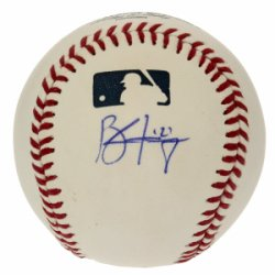 Brandon Finnegan Autographed Rawlings Official Major League Baseball - Certified Authentic Autographed - Signed MLB Baseballs