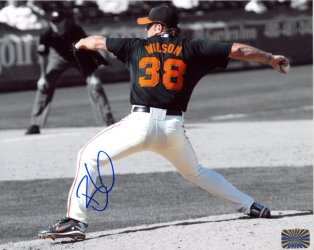 Brian Wilson San Francisco Giants Autographed 8x10 Photo - Certified Authentic