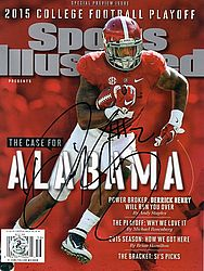 Derrick Henry Autographed Signed Sports Illustrated - 2015 College Football Playoff