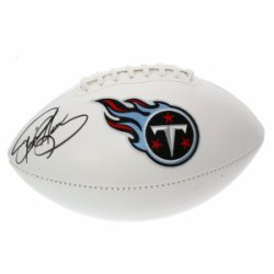 Derrick Henry Autographed Tennessee Titans White Panel Football - JSA Certified Authentic