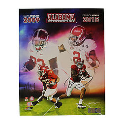 Derrick Henry & Mark Ingram Autographed Signed 16x20 Photo - Alabama Dynasty Backs