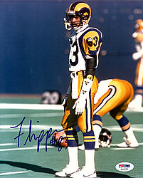 Flipper Anderson Autographed 8x10 Photo Los Angeles Rams - PSA/DNA Certified
