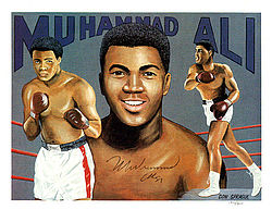 Muhammad Ali Autographed 8.5x11 Photo Vintage - PSA/DNA Certified