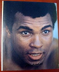 Muhammad Ali Autographed 9x11 Magazine Page Photo - PSA/DNA Certified