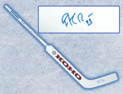 Patrick Roy Colorado Avalanche Autographed KOHO Revolution Goalie Stick