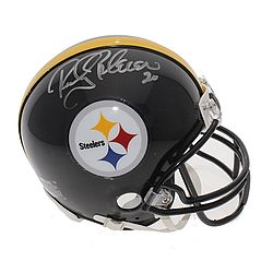 Rocky Bleier Autographed Signed Pittsburgh Steelers Mini Helmet - Certified Authentic - Autographed Signed Helmets
