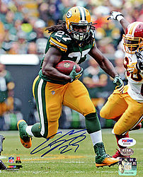 Signed Eddie Lacy Autographed 8x10 Photo Green Bay Packers - PSA/DNA Certified - Signed NFL Football Photos