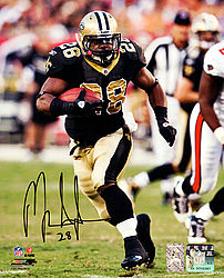 Signed Mark Ingram Autographed 8x10 Photo New Orleans Saints MI Holo Stock #76064 - Signed NFL Football Photos