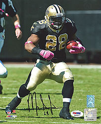 Signed Mark Ingram Autographed 8x10 Photo New Orleans Saints - PSA/DNA Certified - Signed NFL Football Photos