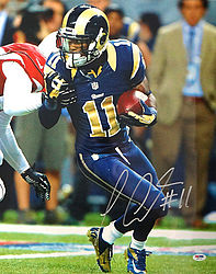 Signed Tavon Austin Autographed 16x20 Photo Los Angeles Rams - PSA/DNA Certified