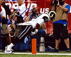 Signed Tavon Austin Autographed 8x10 Photo Los Angeles Rams - PSA/DNA Certified