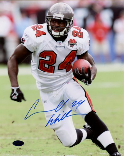 Cadillac Williams Autographed Signed 8x10 Photo - Certified Authentic