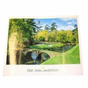2016 Masters Merchandise - Masters Commemorative Poster