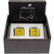 Masters Cuff Links Yellow Pin Flag