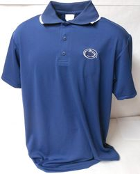 A Penn State Performance Polo Shirt Navy With Trim Nittany Lions (PSU) (A)