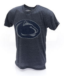 Penn State Charcoal Vintage Lion Head T-Shirt
